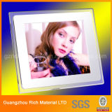 Capítulo de acrílico de la promoción del regalo marco de fotos / plexiglás plástico para la decoración casera