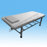 Lenzuolo a gettare dell'ospedale, lenzuolo impermeabile non tessuto con la cassa del cuscino