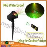 Im Freien funkelndes IP65 Laserlicht-Stern-Erscheinen-Garten-Dekoration-Licht