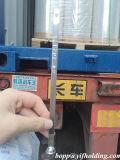 Película metalizada de BOPP para el empaquetado flexible del alimento, las decoraciones, las escrituras de la etiqueta, embalaje de regalo etc