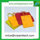 각종 주문을 받아서 만들어진 크기 색깔은 형식 손잡이를 가진 서류상 선물 부대를 형성한다