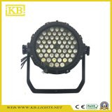 Pi65 54 * 3W Waterproof LED PAR Luz