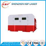 Machine de découpage fermée arrondie par bien automatique de laser en métal de fibre de large échelle