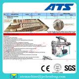 Moinho de pellets de avicultura com duplo equipamento de condicionador / avicultura