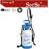 Spruzzatore manuale di plastica della pompa di pressione di mano di pressione d'aria del giardino 5L di Shixia Seesa GS Aprroved (SX-CSG5F)