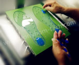 皮の安全なシリコーンの靴の中敷材料-プラチナシリコーンゴム