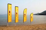Bandierina quadrata delle bandierine di spiaggia/palo di bandierina