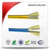 Câble souterrain de but de câble fibre optique de 12 faisceaux de fibre optique multi de rubrique