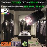 diodo emissor de luz Tracklight da ESPIGA do cidadão de 30W Dimmable com excitador de Osram