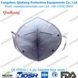 Masque protecteur pliable d'Earloop de carbone actif de masque de sûreté de masque de brouillard enfumé