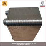 Тип паяемый нержавеющей сталью теплообменный аппарат плиты