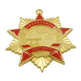 Médaillon fait sur commande de national d'étoile d'or