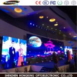 Indicador de diodo emissor de luz interno do vídeo de cor P7.62 cheia para anunciar a tela