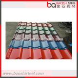 Folhas onduladas de alumínio da telhadura do zinco versátil de aço de Baoshi