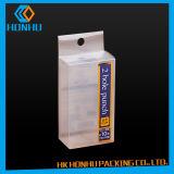 Прозрачный пластичный любимчик одевает упаковывать PVC