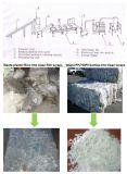 Broyeur en plastique dur avec la ligne de réutilisation de lavage
