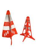Cone europeu patenteado do tráfego da pirâmide
