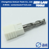 Торцевая фреза карбида вольфрама высокой точности для подвергать механической обработке CNC