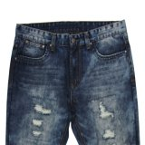 Top venda mais recente projeto 2017 dos homens do Verão Jeans (MYX10)