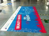 Annonçant le drapeau polychrome de tissu de polyester d'impression (SS-FB18)