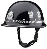 Casco del deber de la seguridad de la protección de la policía de la impresión de la onda