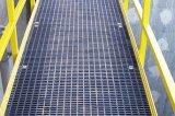 Reja al aire libre del acero de la pisada de escalera