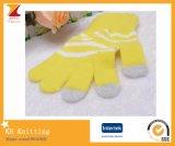 Перчатки касания хорошего качества цветастые