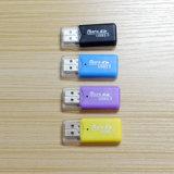 Leitor de cartão por atacado de alta velocidade da memória do USB SD do leitor de cartões da memória do OEM