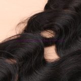 インドボディ波8Aの等級のバージンの毛ボディ波の柔らかい人間の毛髪の織り方の束