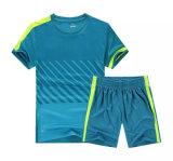 Heiße Verkaufs-Form-Kurzschluss-Hülsen-Ebenen-kundenspezifischer Fußball Jersey
