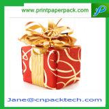 Rectángulo de empaquetado del favor de la manera del rectángulo del regalo cuadrado del papel