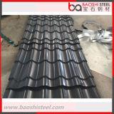 Hoja de acero acanalada revestida modificada para requisitos particulares del material para techos del color