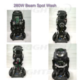 280W Pointe Beam Spot Lavado Moving Head Stage Luz