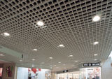 Red de aluminio del techo suspendido para la decoración del techo de las zonas abiertas