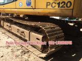 Excavador usado de la correa eslabonada de KOMATSU PC120-6e
