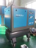 セリウムは2年の保証タンクによって結合されたベルト駆動ねじ空気圧縮機を証明した