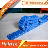 Correa modular móvil superior del rodillo azul de alta temperatura de Hairise