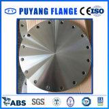 Brida ciega forjada de acero inoxidable ASME B16.5 / DIN / JIS / En1092-1 / GB