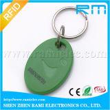 ISO que pode escrever-se 14443 A.M. 1 S50 F08 de Keyfob do Tag chave de 13.56MHz RFID que pode escrever-se