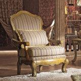 Strato classico americano del tessuto del sofà domestico con la presidenza ed il tavolino da salotto del braccio della sede di amore