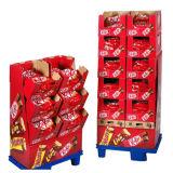 Soportes de visualización del chocolate de la cartulina de Kitkat