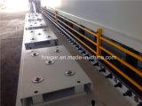 Het hydraulische Scheren van de Plaat van het Staal en Scherpe Machine