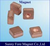 Kupferner Oberflächenüberzug-permanenter seltene Massen-Magnet