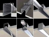 Soem-Aluminiumstrangpresßling-Profil für LED-Streifen-Licht