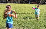 Малыши и взрослый шарик затвора велкроего & игра Toss установили с перчатками сжатия большим для потехи 4 сезонов