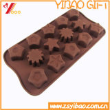 Moulage Customed (YB-HR-124) de gâteau de moulage de chocolat de silicones de Ketchenware