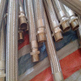 OEM Ss Braided Flexible Steel Hose Gold Fabricante