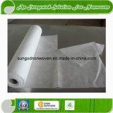 Tissu enduit de Nonwoven du PE de papier enduit pp d'Airlaid de PE