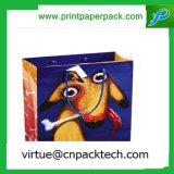 Prmotional zurückführbaren LuxuxkleinKundenspezifisch anfertigen packpapier-Beutel