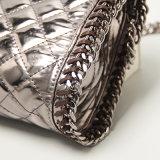 미러 마름모꼴 패턴 PU 여자 핸드백 (A069)